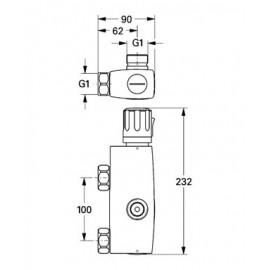 Термостат Grohe Automatic 2000 Basis 34365000