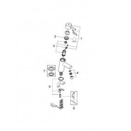 Смеситель для раковины Grohe Concetto new 3224010E