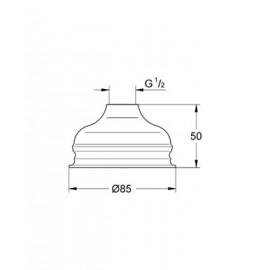 Верхний душ Grohe Relexa basic 28404000