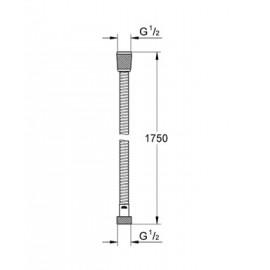Душевой шланг Relexaflex Grohe 45992000