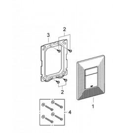 Накладная панель для унитаза с графическим принтом Grohe Skate Cosmopolitan Print 38859XG0