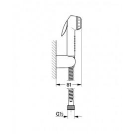Гигиенический душ комплект Grohe Trigger Spray 27812IL0