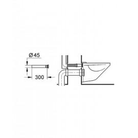 Втулка-удлинение 300 мм Grohe 37105K00
