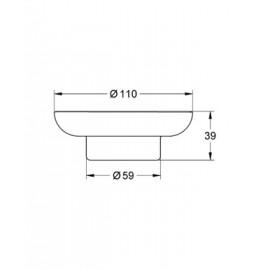 Мыльница Grohe Essentials 40368000