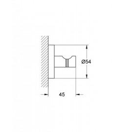 Крючок для банного халата Grohe Essentials 40364000
